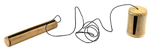 ∙scherende bamboe 22 cm dubbel twee tonlagen vogelzwitters vogels imiteren zwitscheren wind lucht natuurlijke geluiden percussie wereldmuziek