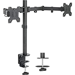 Top 10 Best Dual Monitor Stands of 2021 – Reviews