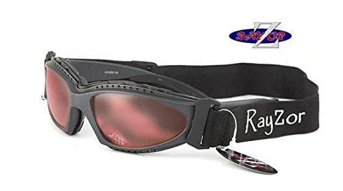 RayZor Professional Zeilen Watersport Zonnebril voor Mannen en Vrouwen Lichtgewicht Sport Wrap Oogkleding. UV400 buitenbril. Anti-verblinding, onbreekbaar en beschermend.