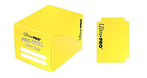 Ultra Pro 82986 UP Deck Box, Yellow, 10,5x9,5x7,8