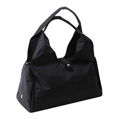 unknow XUFeish - Bolsa para compras y viajes, resistente, lavable, ligera, color negro