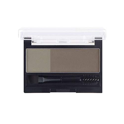 Realbrow Adjustable Eyebrow Stamp | Augenbrauenstempel | 2 in 1 Eyebrow Powder | Stempel Pulver für perfekte Augenbrauen jeden Tag | Augenbrauenpuder Augenbraue Powder Palette (#4 Taupe)