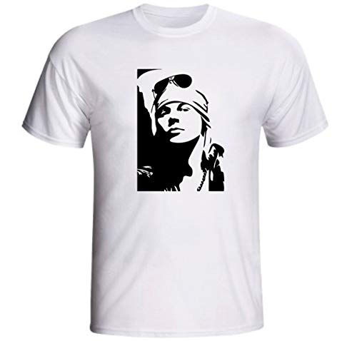 Camiseta Axl Rose Guns n roses música