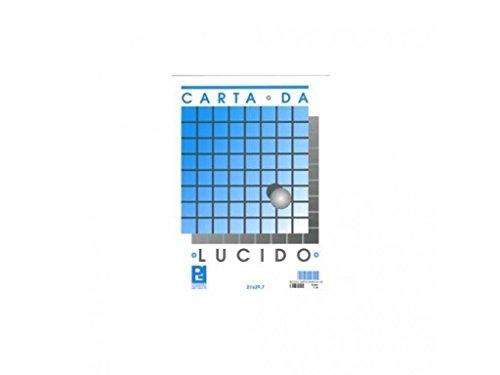 takestop Blocco Carta Lucida per RICALCO Schizzi Disegno Album PICARTA FABRIANESE Foglio 21x29,7CM 10 Fogli 80GR