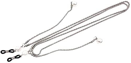 GDEVNSL Cadena de Metal Mejorada Anteojos Gafas de Sol Soporte para anteojos para