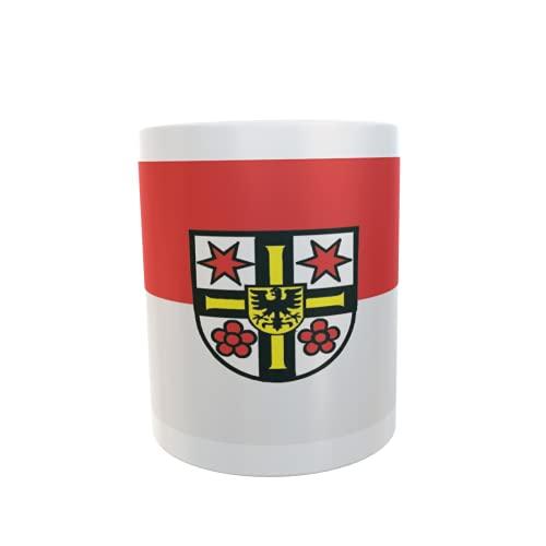 U24 Tasse Kaffeebecher Mug Cup Flagge Bad Mergentheim