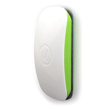 U Brands Magnetic Dry Erase Board Eraser, Felt Bottom Surface, 4.5 x 2.25 x 1 Inches - 581U04-16