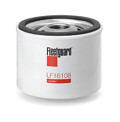 LF16108 Fleetguard Lube Filter, Replaces (Donaldson P551763, Kohler 1205001, 12 050 01-S, Wix 51056)
