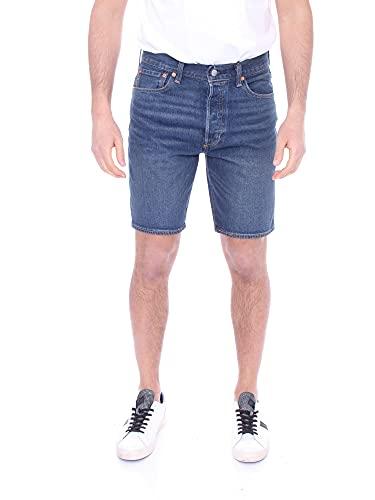 Levi's 501 Hemmed Pantalones Cortos, Fire GOIN' Short, 34W / 9L para Hombre