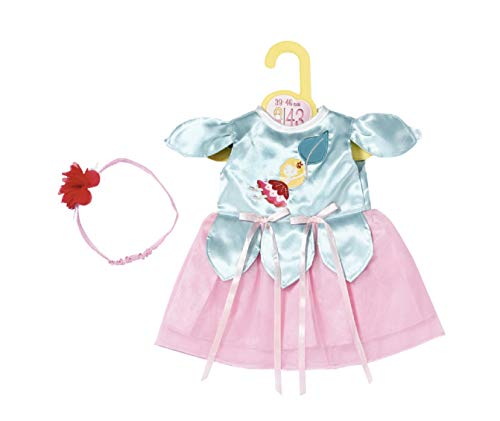 Preisvergleich Produktbild Zapf Creation 871072 Dolly Moda Fairy Kleid 43cm - Puppenkleidung rosa Puppenkleid mit Haarreif