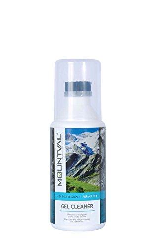 Mountval Gelreiniger für Wanderschuhe & Trekkingschuhe aus Nubukleder, Wildleder & für Goretex Schuhe – Qualitätszubehör