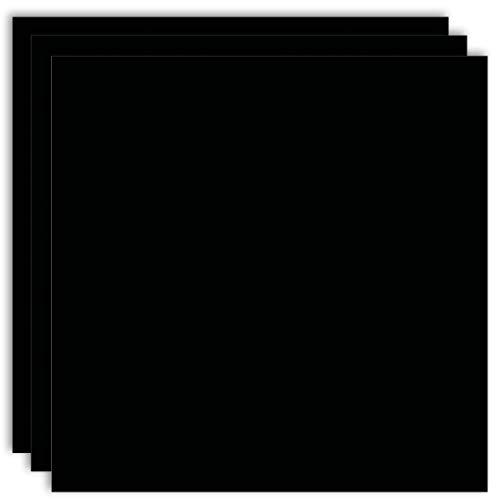 MarpaJansen Fotokarton - (DIN A3, 50 Bogen, 300 g/m²) - zum Basteln & Gestalten -  Zertifizierung durch ,,Blauer Engel' - schwarz