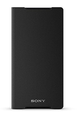 Sony Mobile Hülle Case Cover mit integrierter Standfunktion für Sony Xperia Z2 - Schwarz