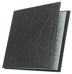 EGP Executive Checkminder Checks Cover, Black, Size: 9 1 2 x 9