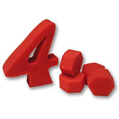 Balles en 4 (Rouge)