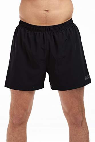 Shorts d'Entraînement/De Gymnastique/De Course Pour Homme- Idéal Pour Le Gymnase, La Piste Et L'entraînement - Short D'entraînement Sportif De Performance Avec Poches Et A Séchage Rapide XL Noir