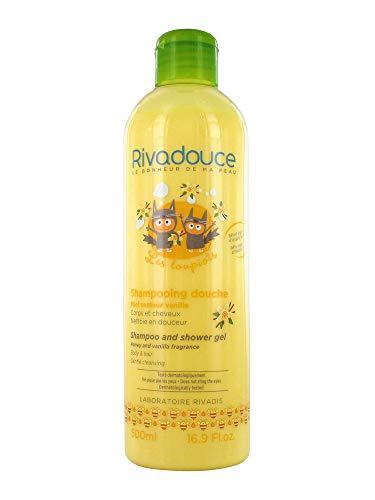 Rivadouce Les Loupiots Shampooing Douche Miel Senteur Vanille 500 ml