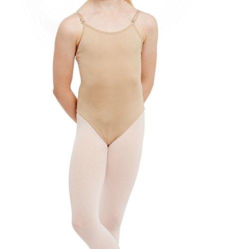 Silky DANCE GIRLS Seamless Camisole Leotard Undergarment Underlayer (Age...