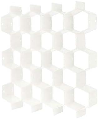 ZPTECH Drawer Organizers Honeycomb Arlington Mall Shape 8 Organizer Pcs Deluxe