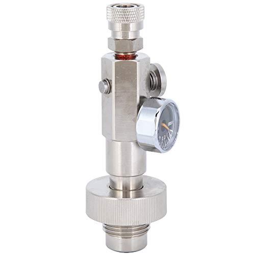 Duokon Keenso-Füllventil, Edelstahl-Sechskant-Tauch-Sauerstoffflaschen-Hochdruck-Ladeventiladapter