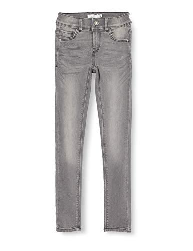 Name IT NOS Girls NKFPOLLY DNMTASIS 4325 PANT NOOS Jeans, Light Grey Denim, 140