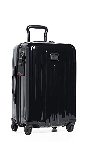 TUMI - V4 International Expandable 4 Wheeled Carry-On - 22-Inch Hardside Luggage for Men and Women - Black