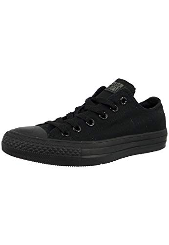 Converse Chuck Taylor All Star Low Black Canvas Trainers-UK 9.5