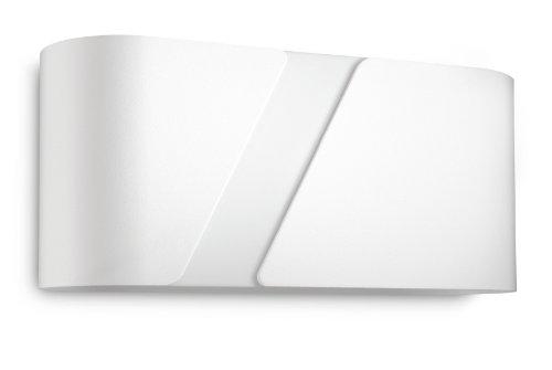 Philips myLiving Aplique bajo consumo E27, 23 W equivaletes a 102 W en incandescencia, luz blanca cálida, iluminación interior