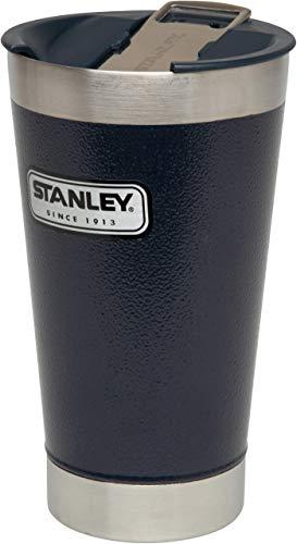 Stanley Stan 16OZ Classic Vac Pint HMRTNE Navy-EU Vacuum Glass, Unisex