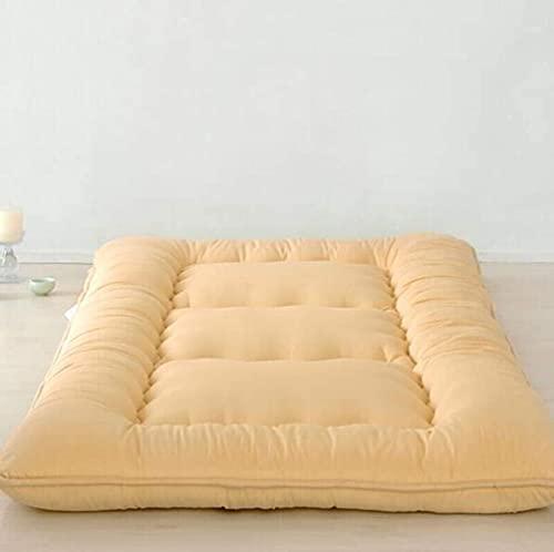 KMatratze Materasso futon di Terra Giapponese, Materasso per Pavimenti Spessi Traspiranti Materasso futon futon, Materasso Imbottito Tatami (Color : B, Size : 180x220cm)