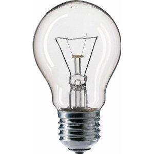 10x Glühbirnen 40W E27 Glühlampe Glühbirne E 27 klar AGL 40 Watt 40Watt, iapyx®