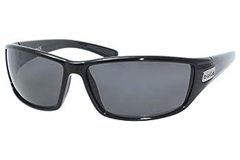 Bolle Python Sunglasses Shiny Black Polarized TNS oleo AF