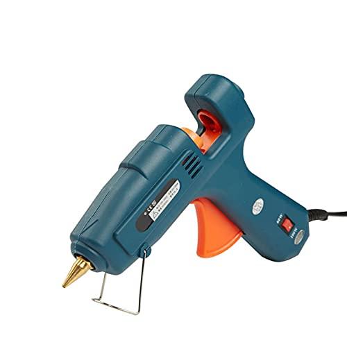 Pistola de Pegamento Full Size Antigoteo y gatillo flexible Pistola de Silicona Caliente Mini Alta Temperatura para Reparaciones, DIY, Decoración del Festival Pistola de Silicona Caliente