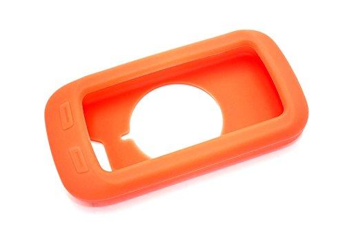 vhbw Housse Compatible avec Garmin Edge 1000 Ordinateur de vélo - Orange, Silicone