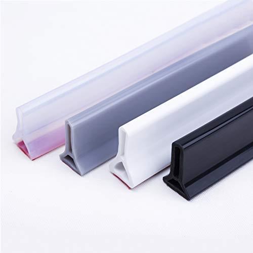Hohe Qualität Schwallschutzleiste Dusche, Faltbare Duschtürschwelle, hält das Wasser innerhalb der Schwelle. (105,Grau)