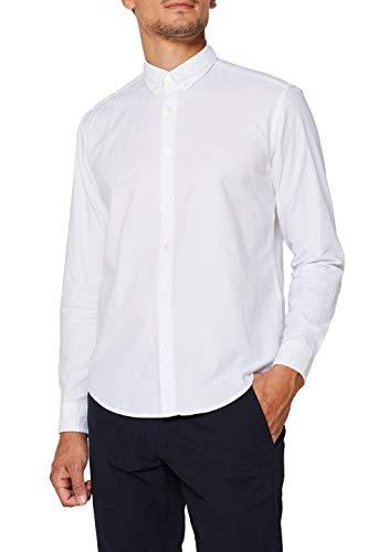 ESPRIT Herren 109Ee2F004 Freizeithemd, Weiß (White 100), X-Large (Herstellergröße: XL)