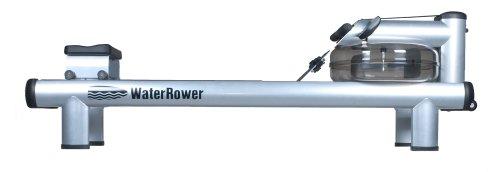 WaterRower M1 HiRise Rowing Machine with S4 Monitor
