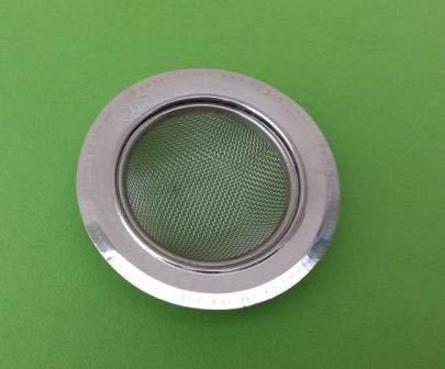 SHOP ONLINE Stainless Steel Strainer Kitchen Drain Basin Basket Filter Stopper Drainer Sink Jali wash Basin Jali/Strainer Pack of 1