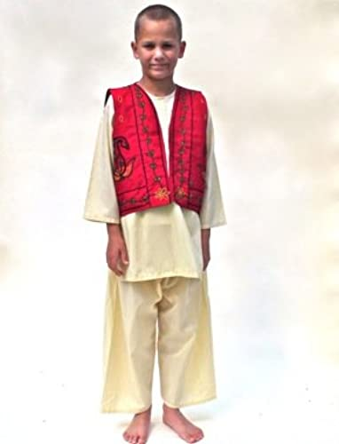 Robe up Indian Kurta Pyjama-multicultural resource fancy Robe costume- for different age group and adult Fit all Taille (2-4 years)