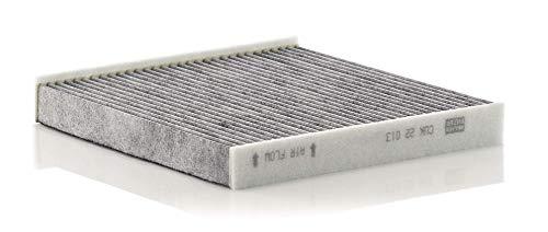 Original MANN-FILTER Filtro de habitáculo CUK 8430 – Filtro de habitáculo con carbón activo – para automóviles