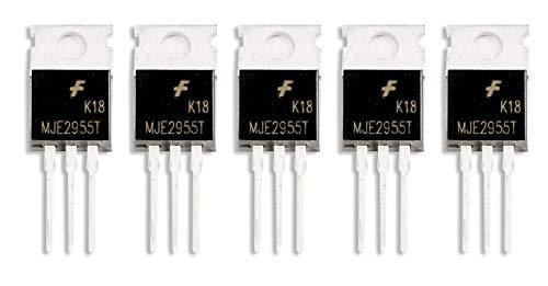 MissBirdler 5 Stück MJE2955T MJE2955 PNP Transistor 10A 60V TO-220 für Arduino DIY