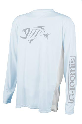 G. Loomis Long Sleeve Tech Tee Mens Shirts Fishing Gear, Citrus, X-Large