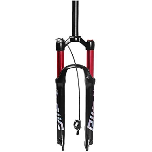 Tenedor Bicicleta,27,5 Pulgadas (27,5 Compatible con 26 Pulgadas) 29 Pulgadas Aleación de Aluminio Magnesio Freno de Disco de Pilar a Carrera 100 Mm MTB Tenedor D,29 Inches