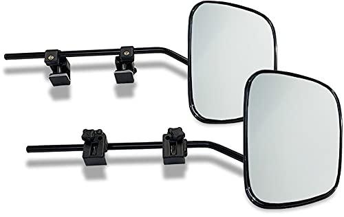 Milenco 2912 Grand Aero Mirror XXL Convex Set of 2 with Mirror Bag, 450.0 mm*150.0 mm*170.0 mm