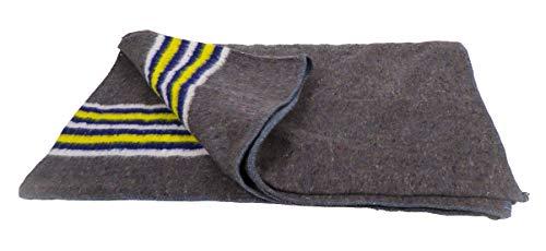 10 mantas de mudanza a rayas, amarillo, azul y blanco – 150 x 200 cm x 1350 g (099.0056)