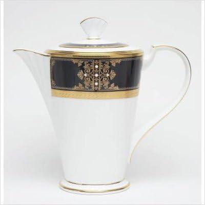 Noritake Evening Majesty Be super welcome Luxury Server Coffee