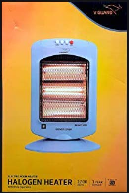V-Guard 3 Rod Halogen Room Heater (RH3HT 1000)