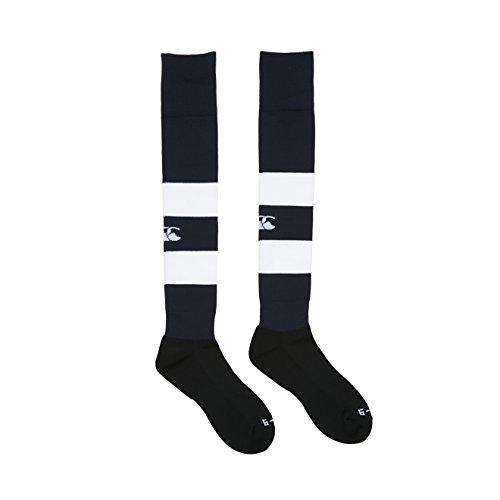 Canterbury Herren Bekleidung Gummi Spielsocken Rugby Socken Navy L (kingsize)