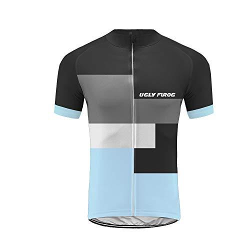 Uglyfrog Wear Trikot Herren 2019 MTB Sport & Freizeit Radsport Bekleidung Shirts Atmungsaktiv Bequem Sports Clothes
