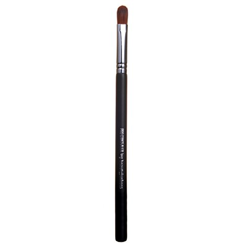 Beauty Junkees Professional Concealer Brush: Under Eye Makeup Brush with Tapered Synthetic Bristles - Small Flat Make Up Brushes for Full Coverage and Precision Blending, Concealing, Color Correcting